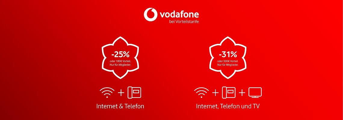 Studentenrabatt Vodafone bei Vorteilstarife