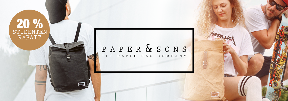 Studentenrabatt PaperandSons